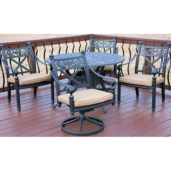 Best ideas about Overstock Patio Furniture . Save or Pin Madrid 5 piece Patio Furniture Set Overstock™ Shopping Now.