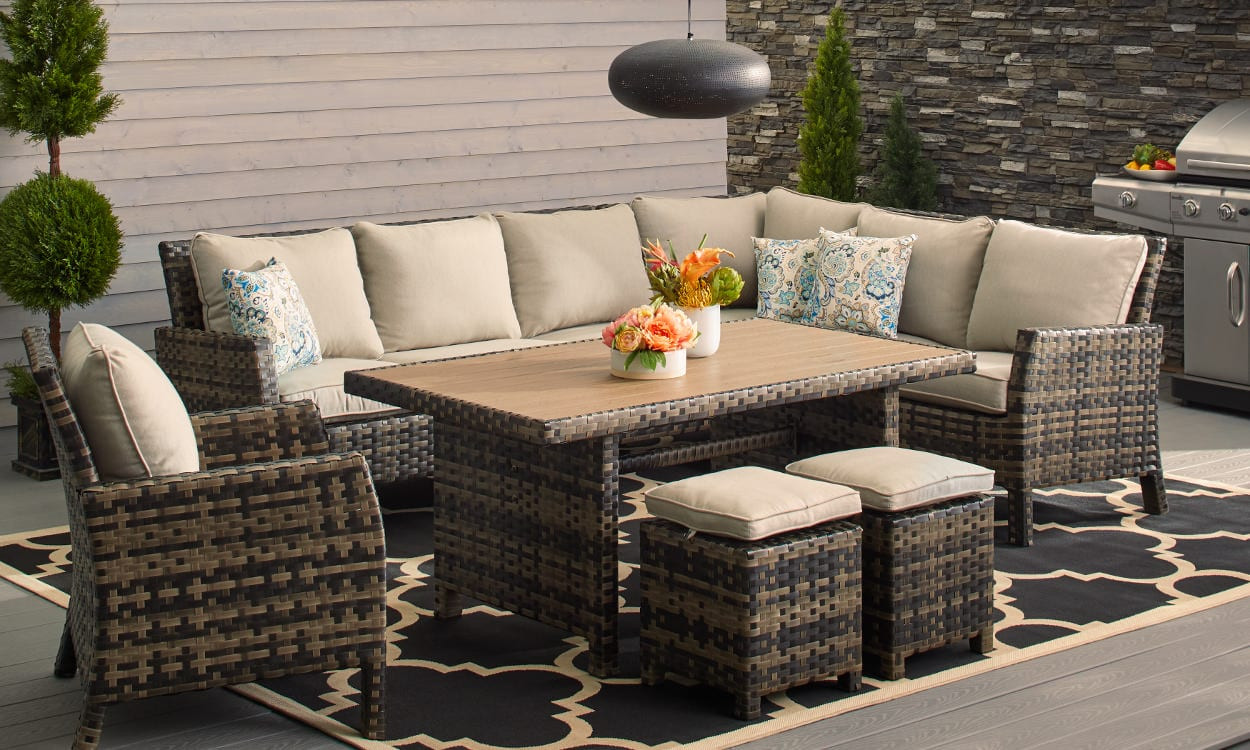 Best ideas about Overstock Patio Furniture . Save or Pin How to Choose Patio Furniture for Small Spaces – Overstock Now.