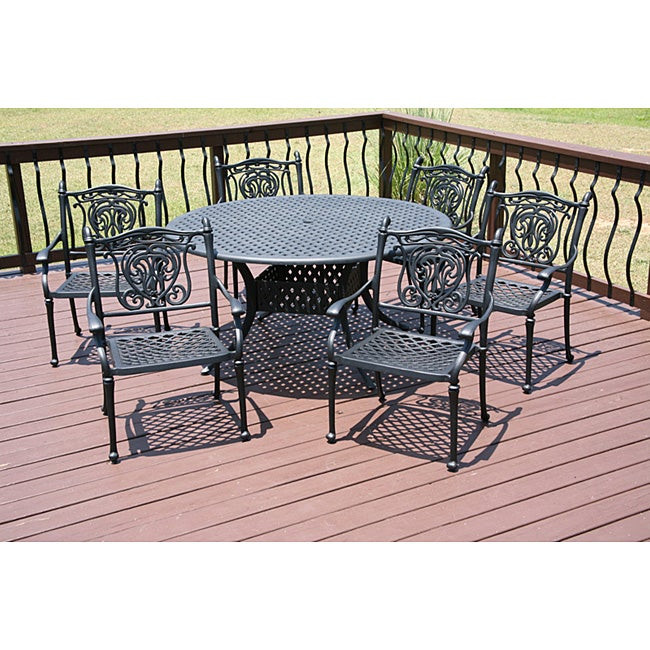 Best ideas about Overstock Patio Furniture . Save or Pin Tuscan 7 piece Patio Furniture Set Overstock Now.