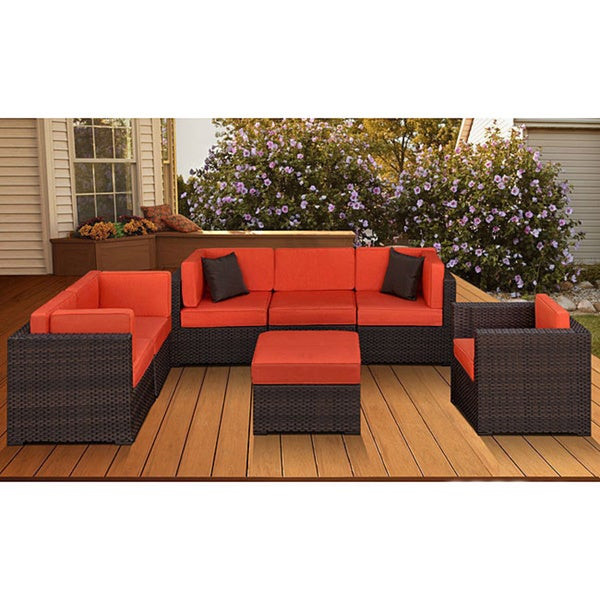 Best ideas about Overstock Patio Furniture . Save or Pin Shop Atlantic Naples 7 piece Patio Furniture Set Free Now.