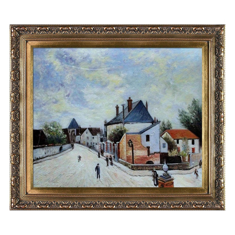 Best ideas about Overstock Wall Art . Save or Pin Overstock Art AS3072 FR X24 Alfred Sisley Street in Now.