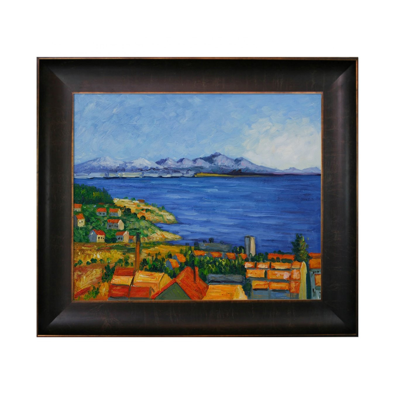 Best ideas about Overstock Wall Art . Save or Pin Overstock Art CZ730 FR X24 Paul Cezanne The Gulf Now.