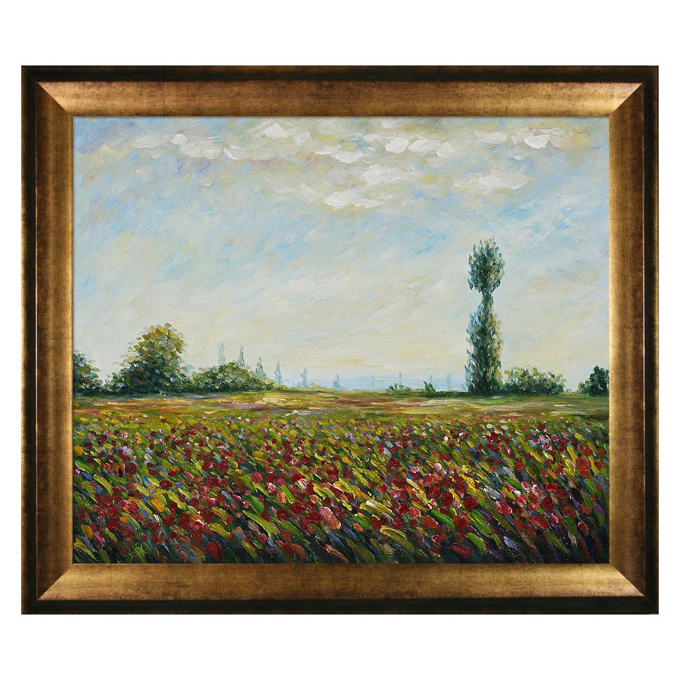 Best ideas about Overstock Wall Art . Save or Pin Overstock Art MON1329 FR X24 Claude Monet The Fields Now.