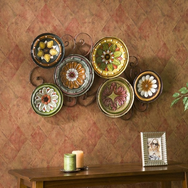 Best ideas about Overstock Wall Art . Save or Pin Upton Home Forli Scattered 6 piece Italian Plates Wall Art Set Now.