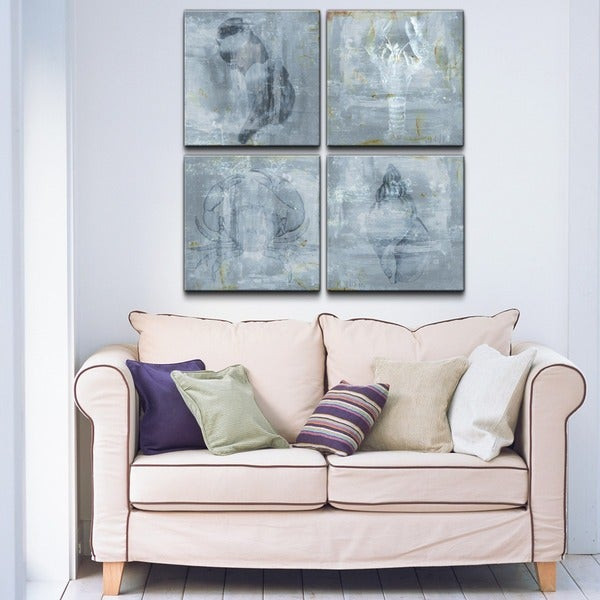 Best ideas about Overstock Wall Art . Save or Pin Shop Ready2HangArt Nautical 4 piece Canvas Wall Art Now.