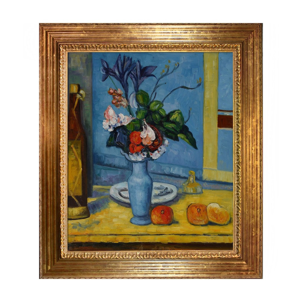 Best ideas about Overstock Wall Art . Save or Pin Overstock Art CZ1253 FR X24 Paul Cezanne La Vase Now.