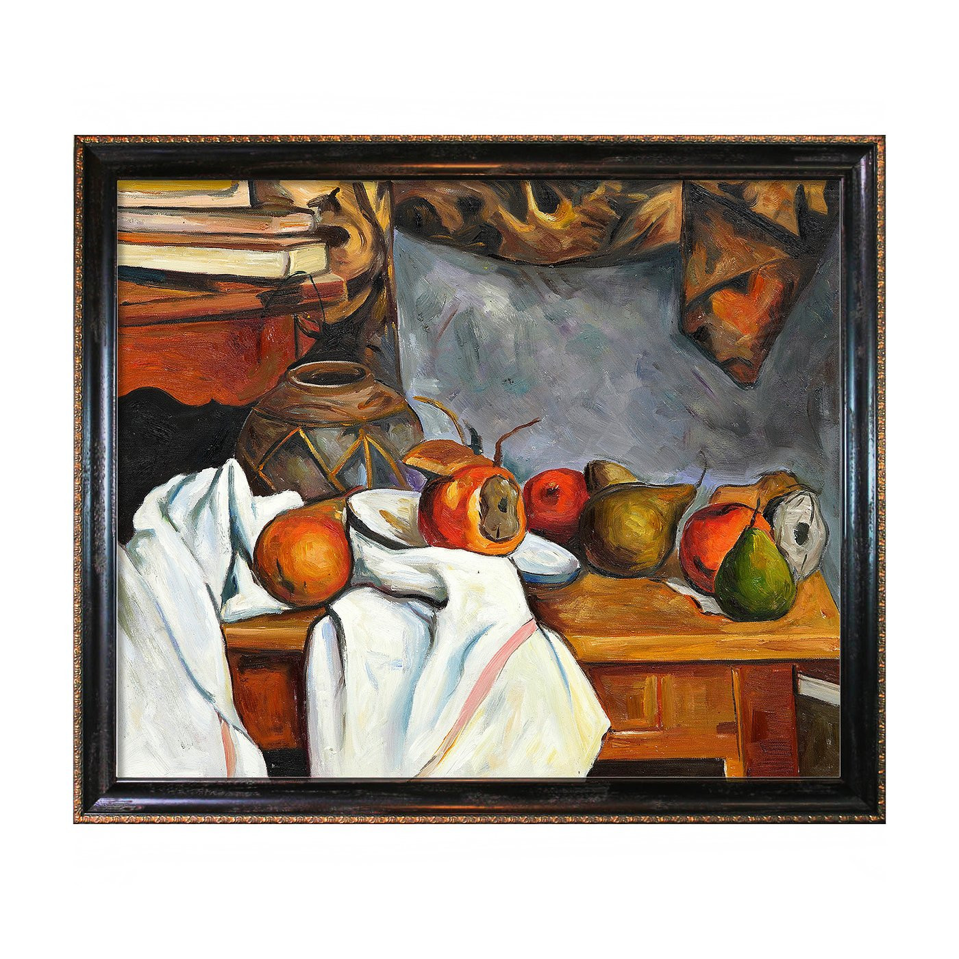 Best ideas about Overstock Wall Art . Save or Pin Overstock Art CZ957 FR X24 Paul Cezanne Ginger Pot Now.