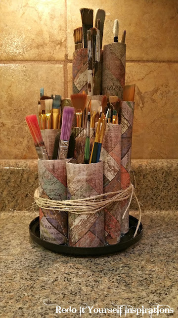 Best ideas about Paint Brush Holder DIY . Save or Pin 50 Clever Craft Room Organization Ideas DIY Joy Now.
