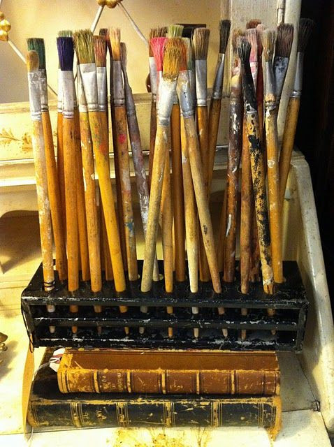 Best ideas about Paint Brush Holder DIY . Save or Pin 25 unique Paint brush holders ideas on Pinterest Now.