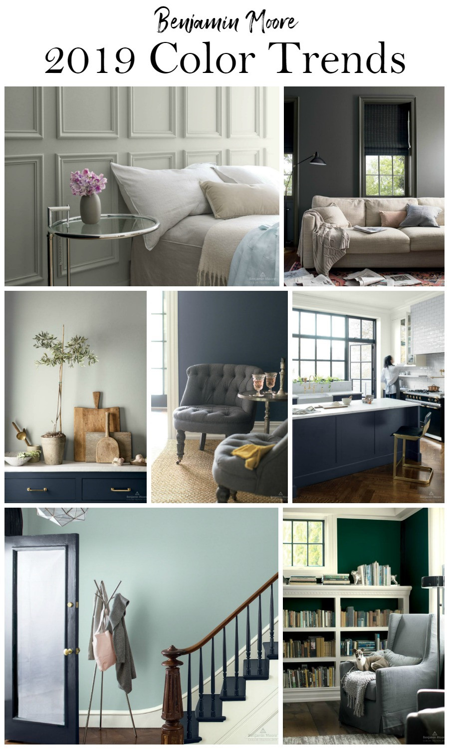 Best ideas about Paint Colors 2019 . Save or Pin Benjamin Moore Paint Color Trends 2019 Now.
