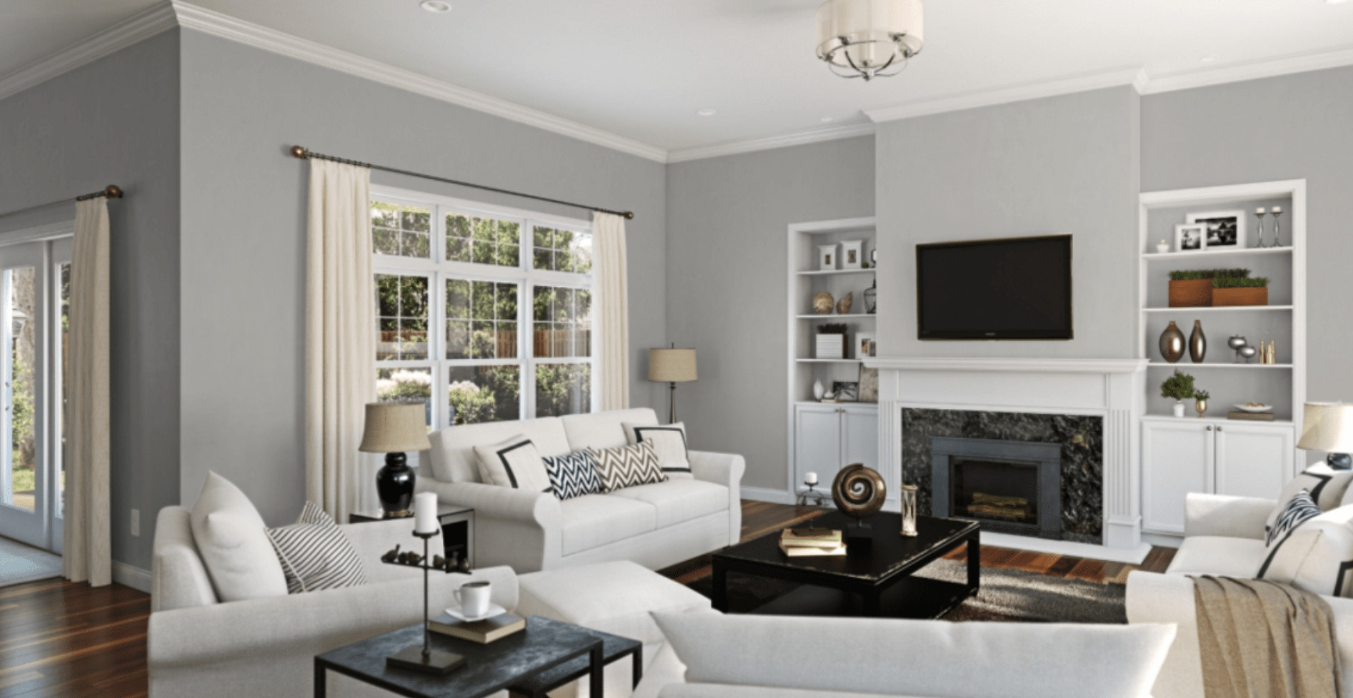 Best ideas about Paint Colors For Family Room . Save or Pin Debut of my new Gray Paint Color Now.