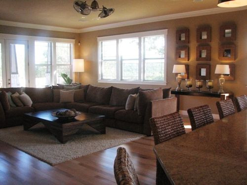 Best ideas about Paint Colors For Family Room . Save or Pin Love this living room Paint color is called Whole Wheat Now.
