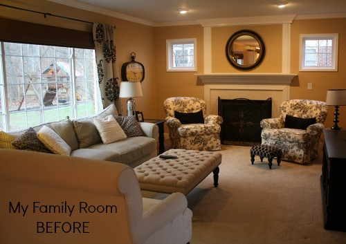 Best ideas about Paint Colors For Family Room . Save or Pin My Family Room Makeover Progress New Paint & Floors Now.