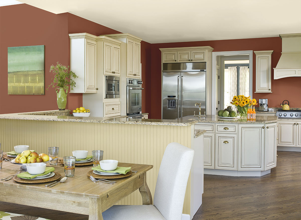Best ideas about Paint Colors For Kitchen . Save or Pin Tips For Kitchen Color Ideas MidCityEast Now.