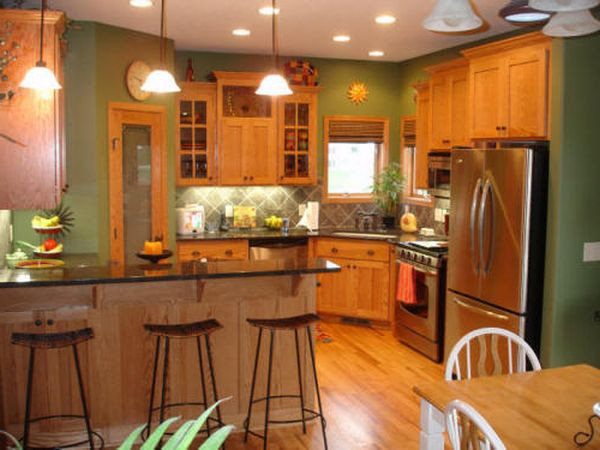 Best ideas about Paint Colors For Kitchen . Save or Pin Best Paint Colors For Kitchens With Oak Cabinets Now.
