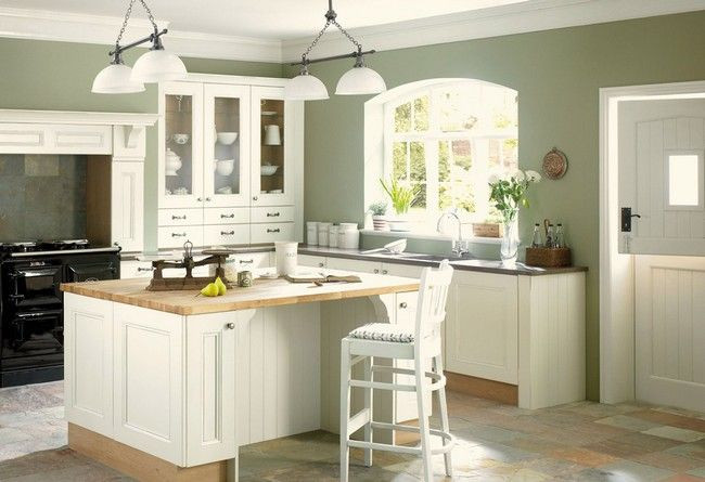 Best ideas about Paint Colors For Kitchen . Save or Pin Best 25 Green kitchen walls ideas on Pinterest Now.
