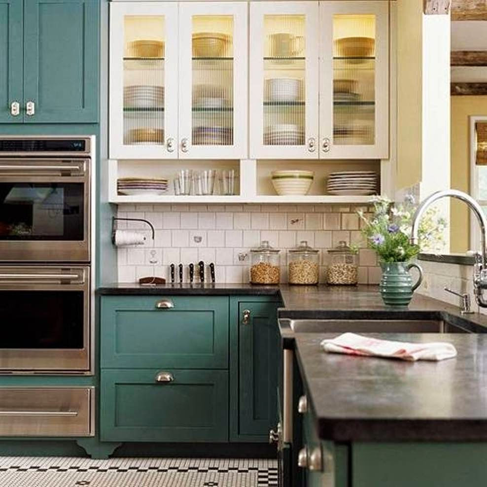 Best ideas about Paint Colors For Kitchen . Save or Pin Abby Manchesky Interiors slate appliances plans for our Now.