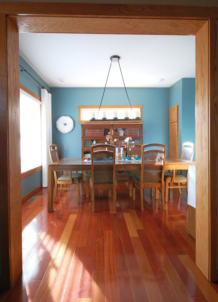 Best ideas about Paint Colors With Oak Trim . Save or Pin My Dining Room with Oak Trim paint color Sherwin Now.