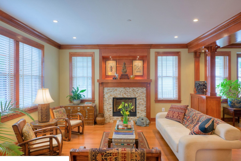 Best ideas about Paint Colors With Oak Trim . Save or Pin How to Pick the Right Paint Color to Go with Your Honey Now.