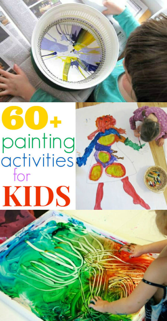 Best ideas about Paint Ideas For Toddlers . Save or Pin Painting Activities for Kids 60 Ideas The Artful Parent Now.