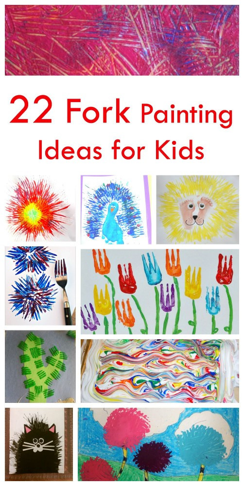 Best ideas about Paint Ideas For Toddlers . Save or Pin 22 Fork Painting Ideas for Kids Emma Owl Now.