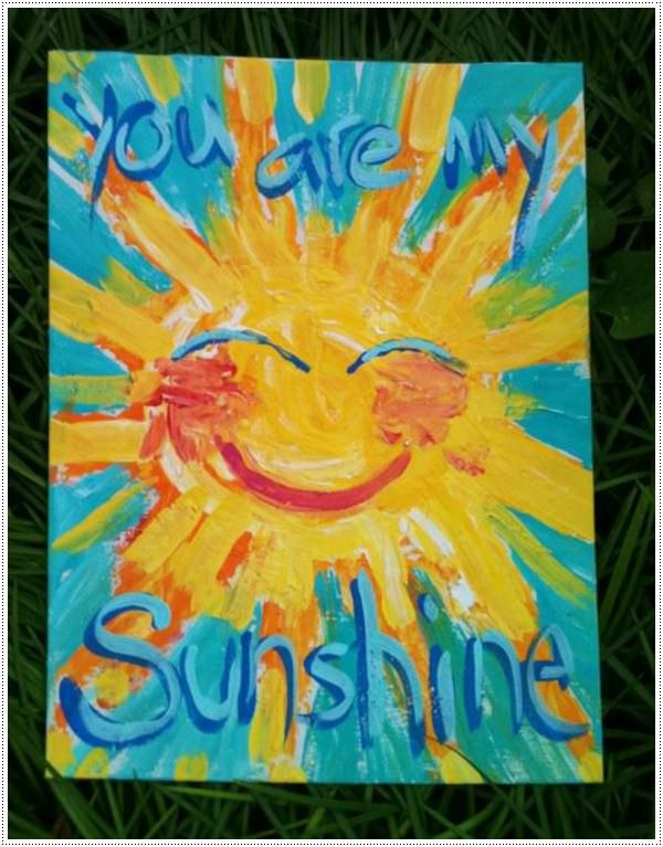 Best ideas about Paint Ideas For Toddlers . Save or Pin 40 Awesome Canvas Painting Ideas for Kids Now.