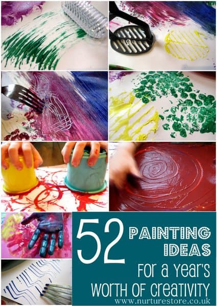 Best ideas about Paint Ideas For Toddlers . Save or Pin kids painting ideas Now.
