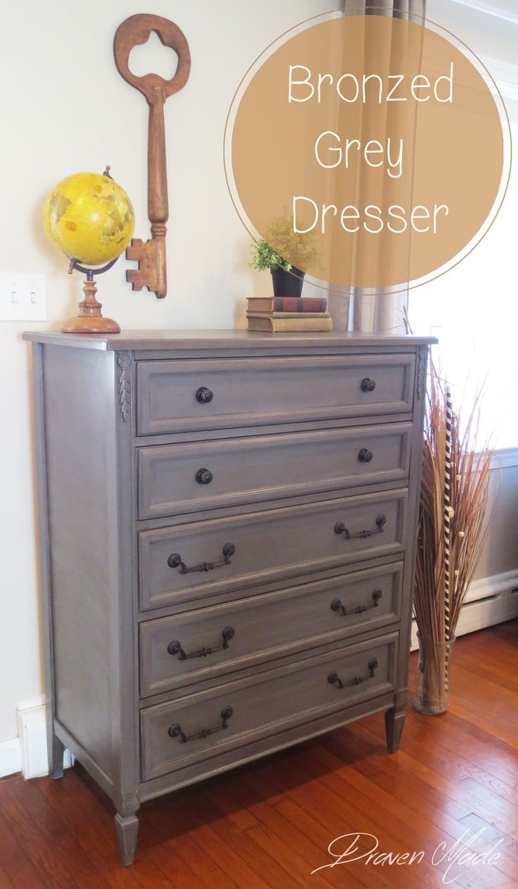 Best ideas about Painted Bedroom Furniture Ideas . Save or Pin Best 25 Grey dresser ideas on Pinterest Now.