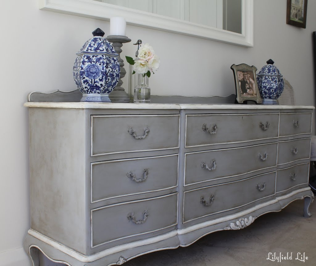 Best ideas about Painted Bedroom Furniture Ideas . Save or Pin Lilyfield Life Chalk paint doesn t always need distressing Now.