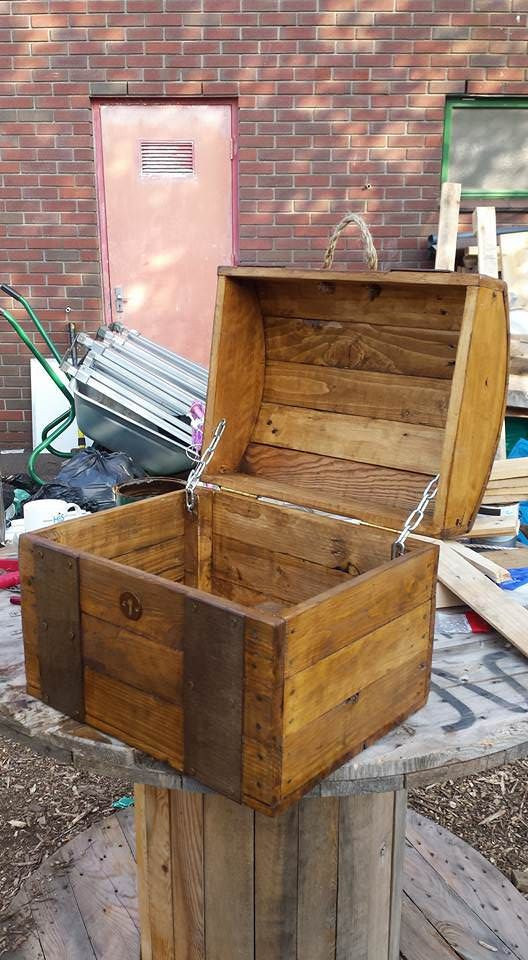 Best ideas about Pallet Boxes DIY . Save or Pin Best 25 Pallet boxes ideas on Pinterest Now.