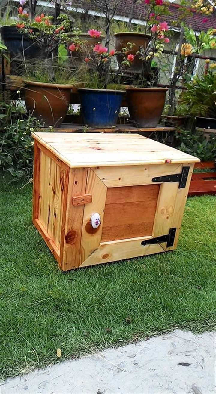 Best ideas about Pallet Boxes DIY . Save or Pin 25 best Pallet Boxes ideas on Pinterest Now.