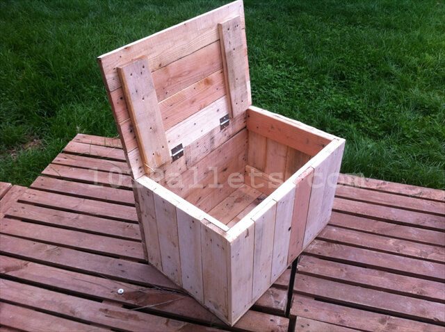 Best ideas about Pallet Boxes DIY . Save or Pin DIY Pallet Storage Boxes Now.