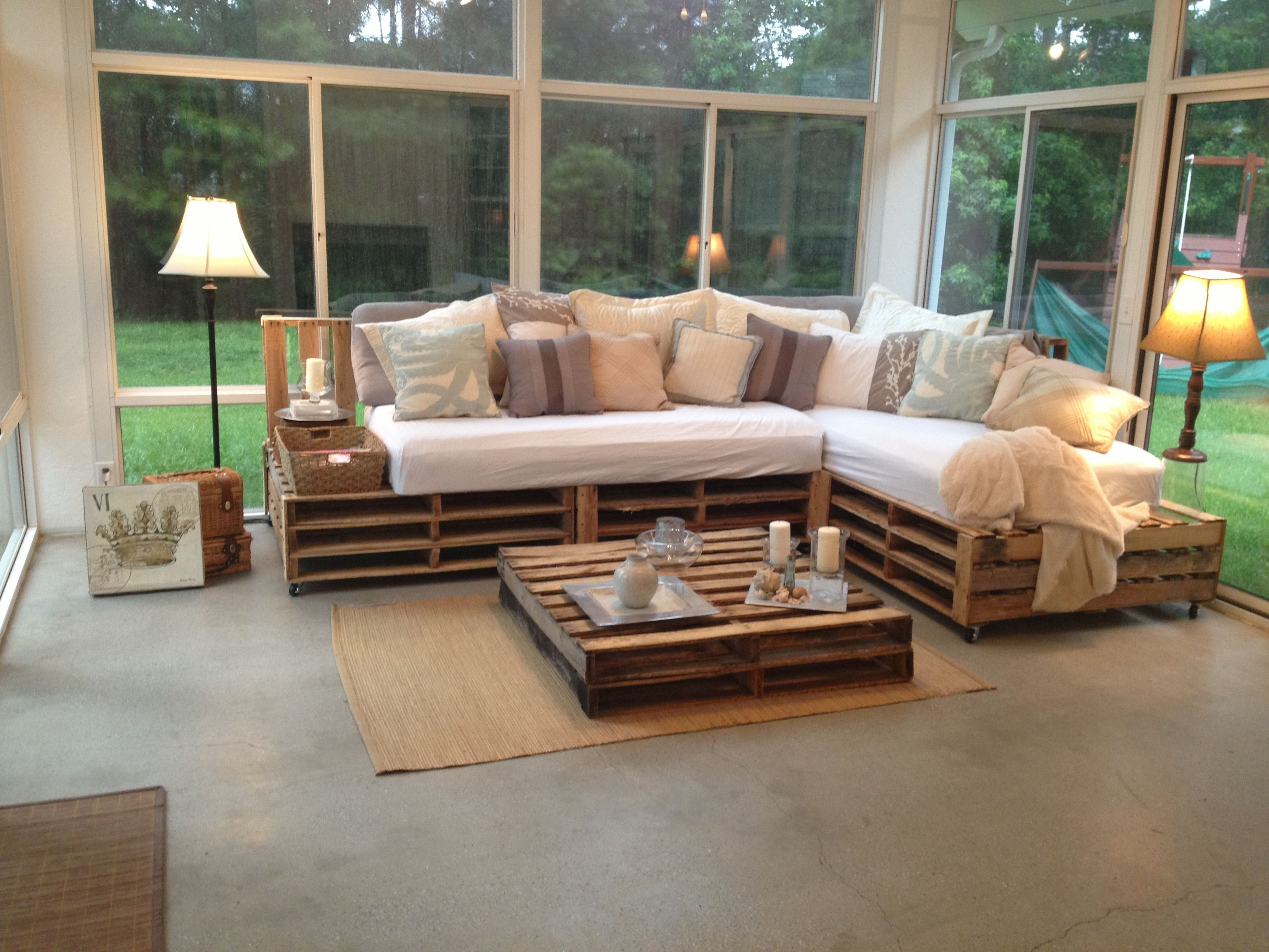 Best ideas about Pallet Furniture Ideas . Save or Pin Finally my very own first pallet project is plete Now.