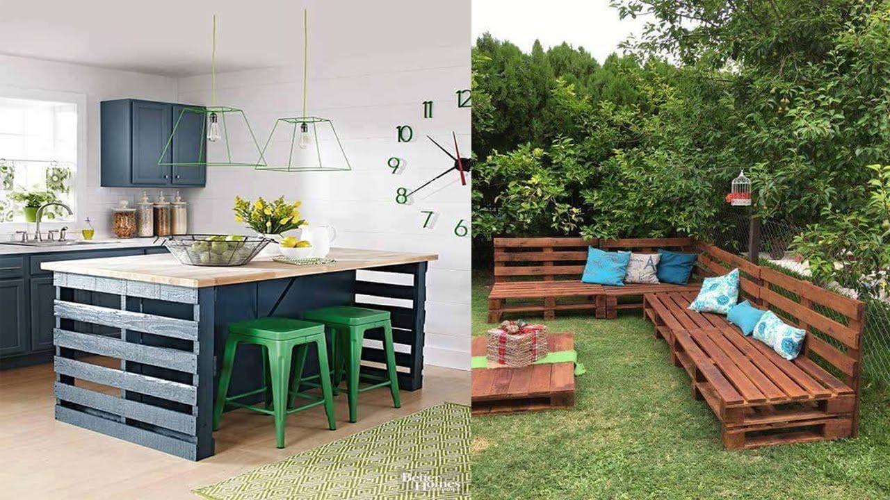 Best ideas about Pallet Furniture Ideas . Save or Pin Unique Wood Pallet Furniture Ideas Now.
