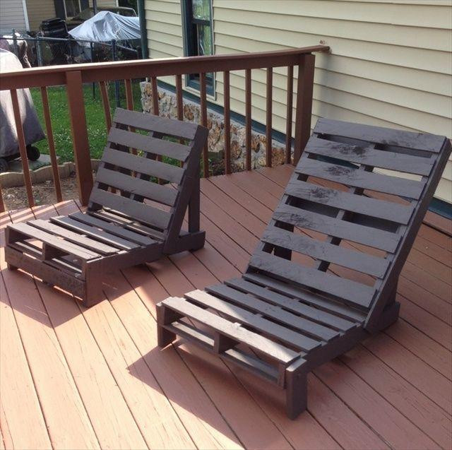 Best ideas about Pallet Furniture Ideas . Save or Pin 31 DIY Pallet Chair Ideas Now.