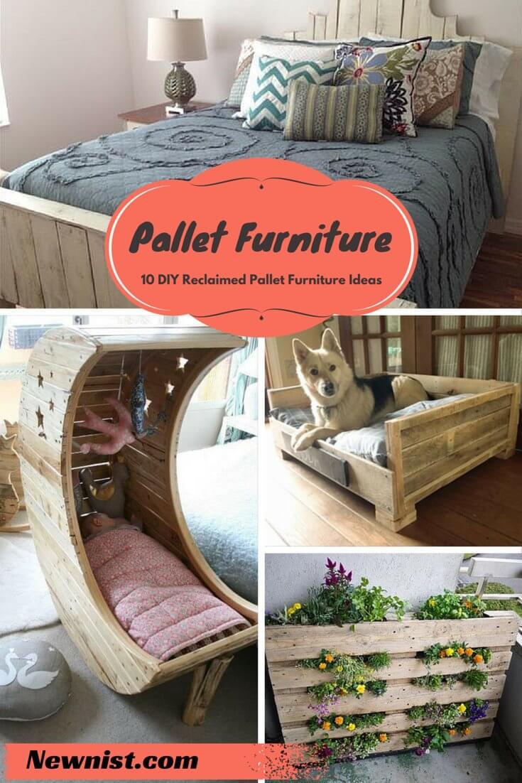 Best ideas about Pallet Furniture Ideas . Save or Pin 10 DIY Reclaimed Pallet Furniture Ideas Now.