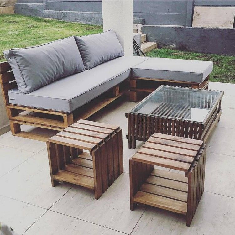 Best ideas about Pallet Patio Furniture . Save or Pin Prepare Amazing Projects with Old Wood Pallets Now.