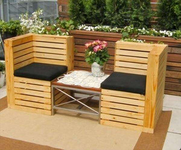 Best ideas about Pallet Patio Furniture . Save or Pin Recycled Pallet Furniture 25 Unique Ideas Now.