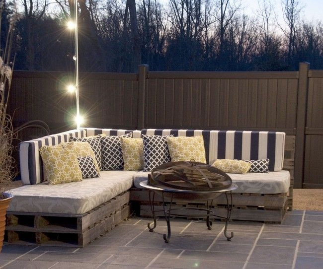 Best ideas about Pallet Patio Furniture . Save or Pin Best 25 Pallet outdoor furniture ideas on Pinterest Now.