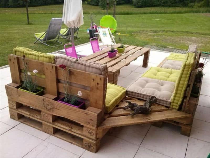 Best ideas about Pallet Patio Furniture . Save or Pin Unique Pallet Furniture Ideas for Your Home Patio Now.