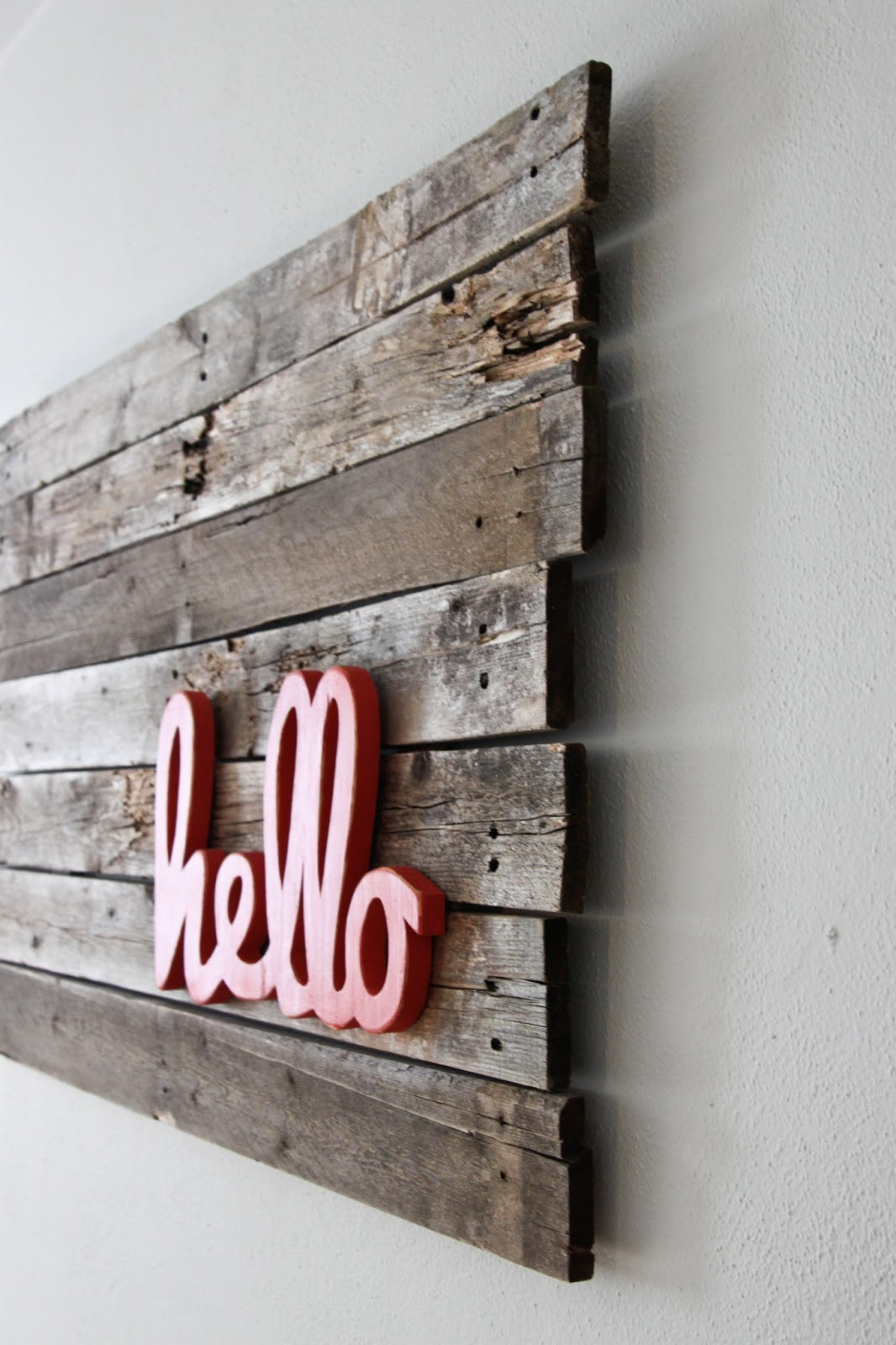 Best ideas about Pallet Wall Art . Save or Pin Upcycling Interiors Brilliant Ideas for Pallet Wall Art Now.