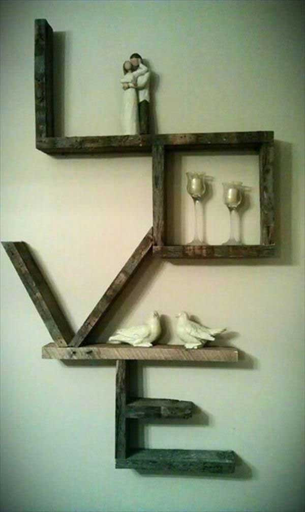 Best ideas about Pallet Wall Art . Save or Pin 20 Recycled Pallet Wall Art Ideas for Enhancing Your Interior Now.