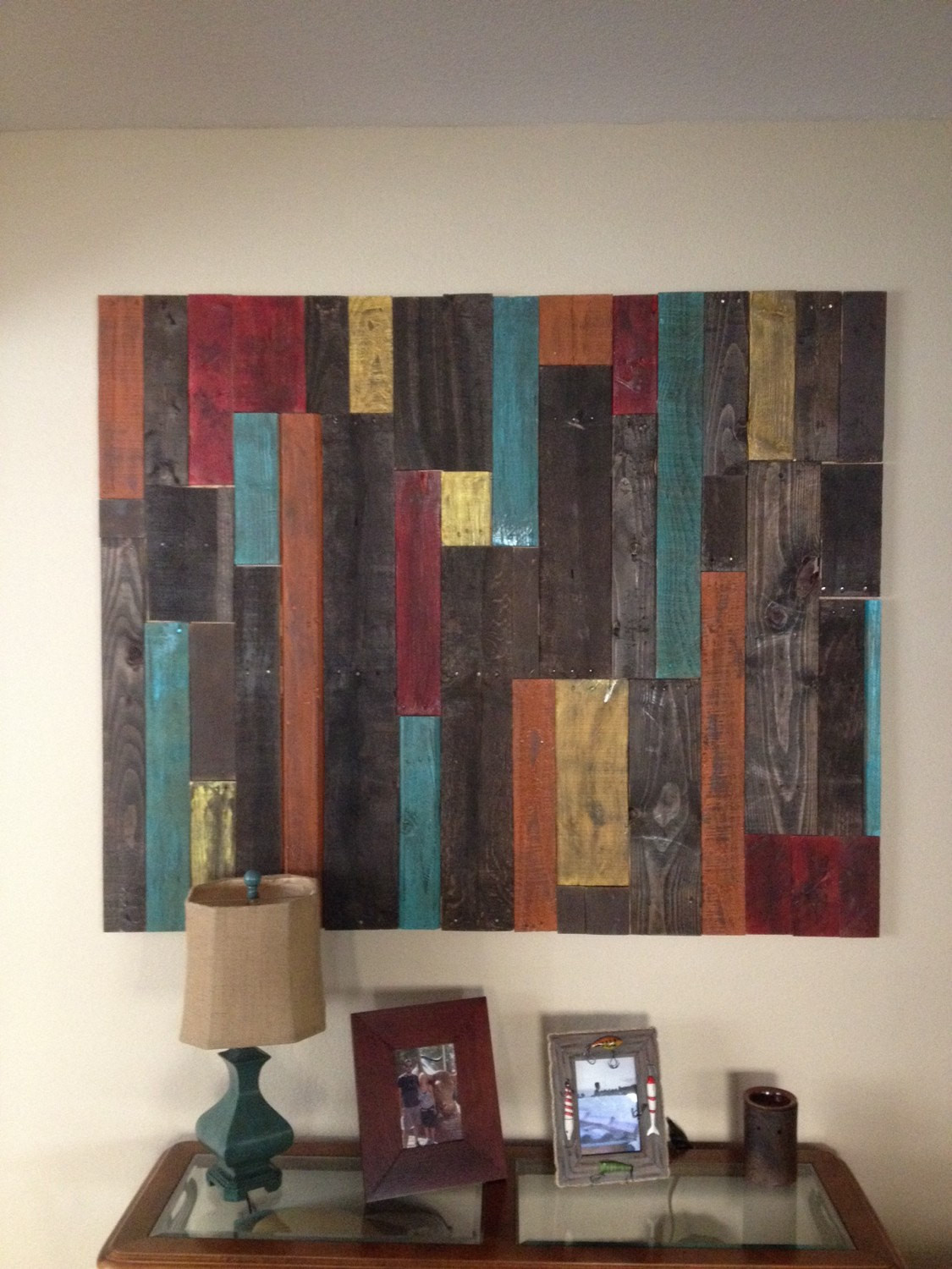 Best ideas about Pallet Wall Art . Save or Pin Distressed Pallet Wall Art Decor Now.