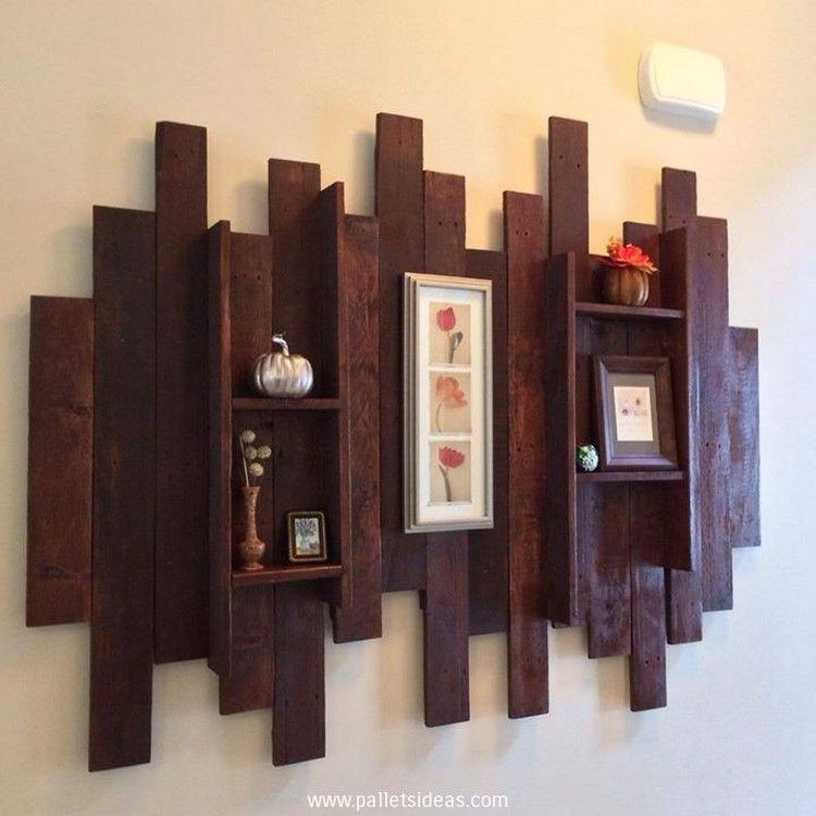 Best ideas about Pallet Wall Art . Save or Pin Pallet wall decor Ideas Pallet IdeaPallet Idea Now.