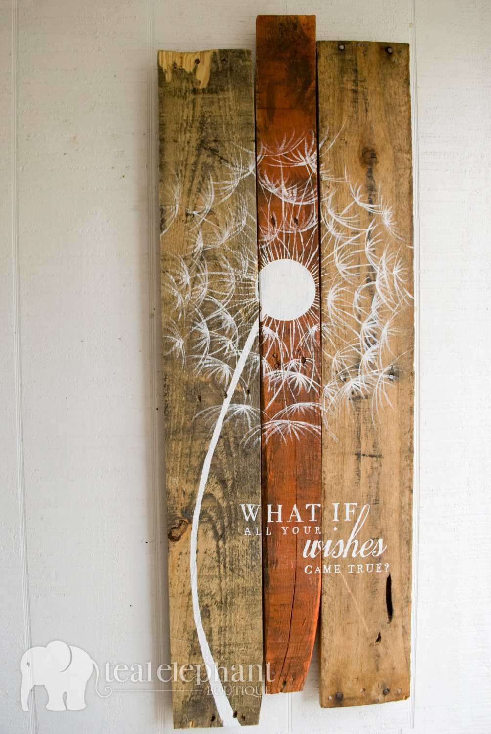 Best ideas about Pallet Wall Art . Save or Pin Pallet Art Dandelion Wel e Home Wall Hanging Rustic Shabby Now.