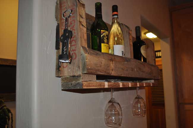 Best ideas about Pallet Wine Rack DIY . Save or Pin How to Make a Pallet WIne Rack with DIY PETE Now.