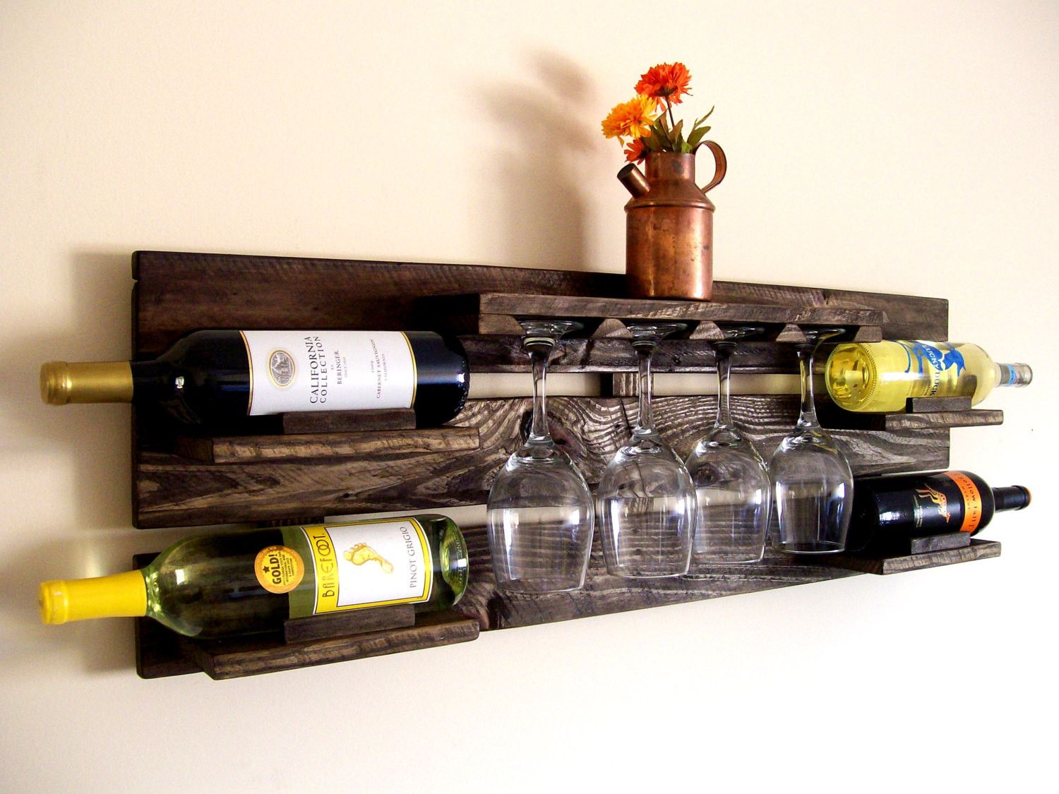 Best ideas about Pallet Wine Rack DIY . Save or Pin Clever Ways Adding Wine Glass Racks To Your Home s Décor Now.