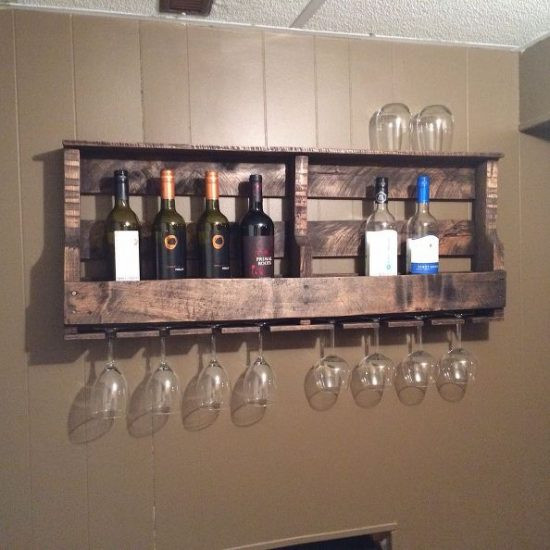 Best ideas about Pallet Wine Rack DIY . Save or Pin Pallet Wine Rack Instructions Are Super Easy Now.