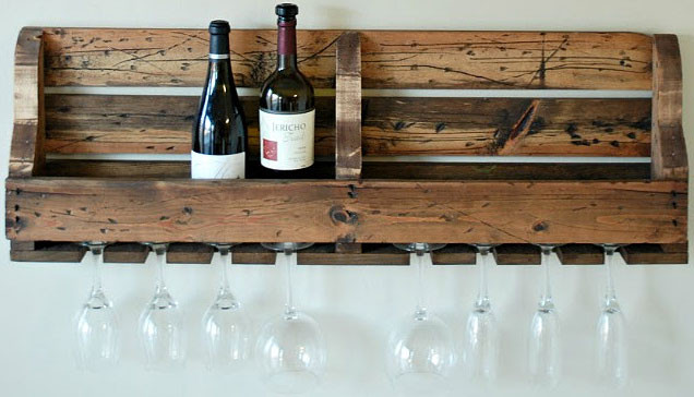Best ideas about Pallet Wine Rack DIY . Save or Pin 14 Easy DIY Wine Rack Plans Now.