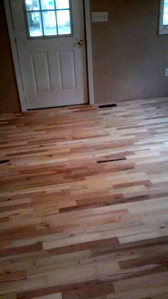 Best ideas about Pallet Wood Flooring DIY . Save or Pin DIY Pallet Wood Flooring Now.